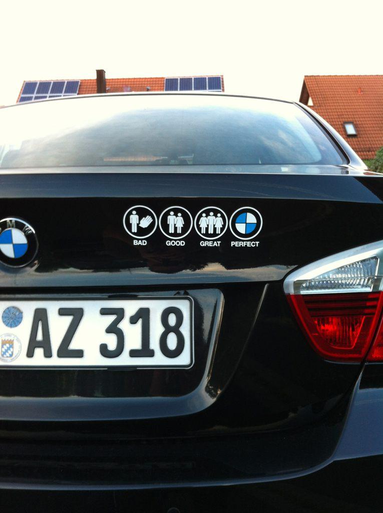 Aufkleber Am Auto Bildersammlung E90 E91 E92 E93