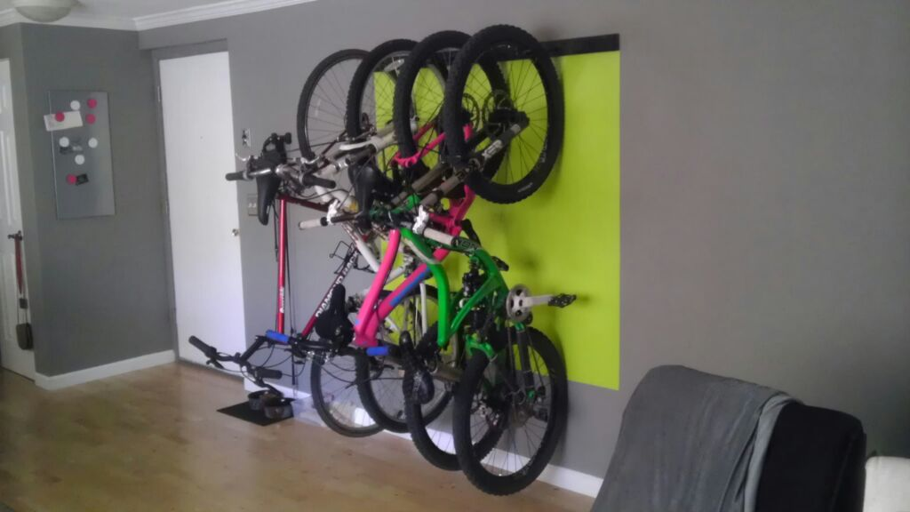 & Bike rack/storage for small apartment. Pics please!- Mtbr.com