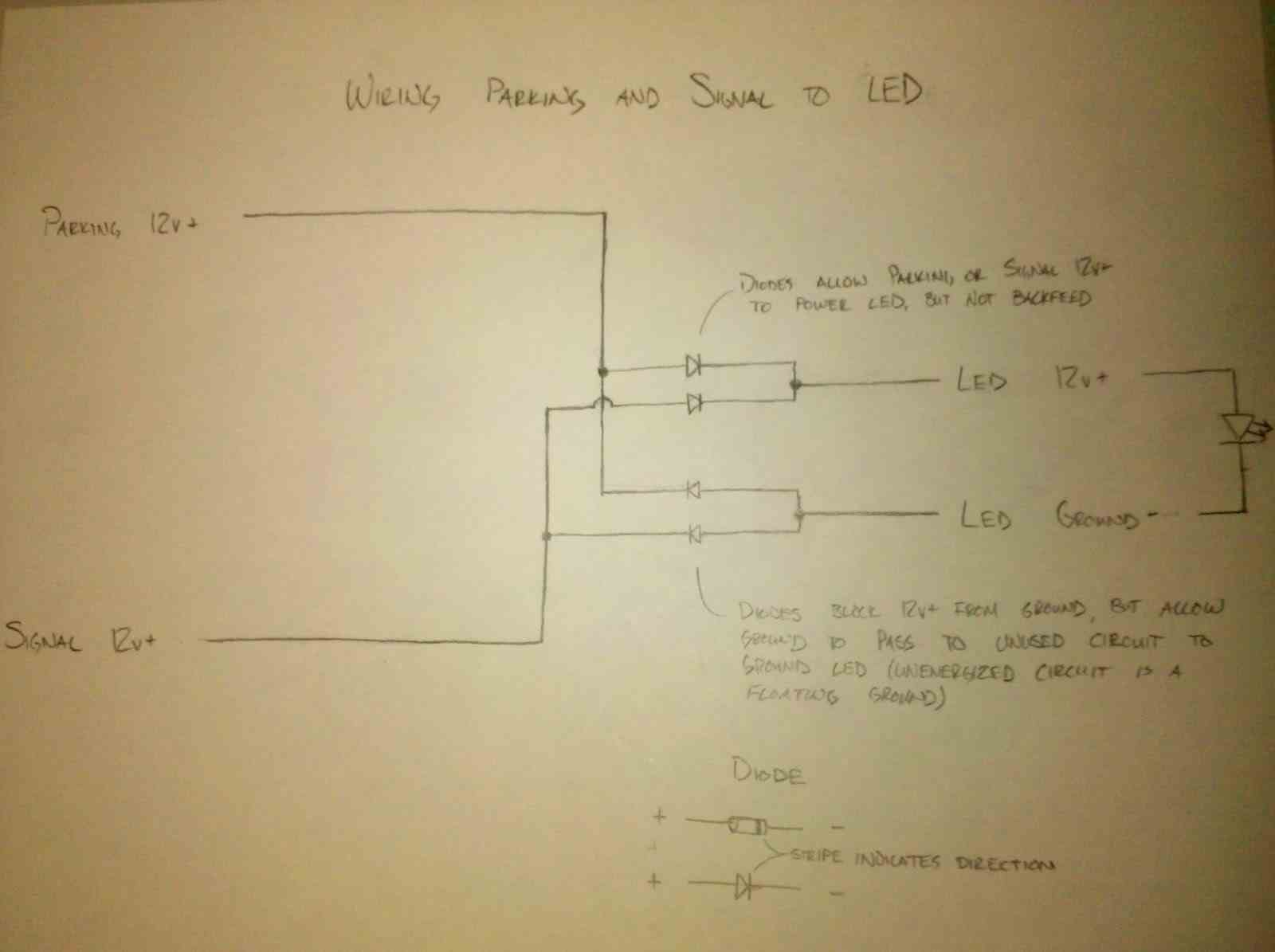 Help Tow Mirrors With Running Lights Chevy Truck Forum Gmc 04 Yukon Front Wiring Diagram Img