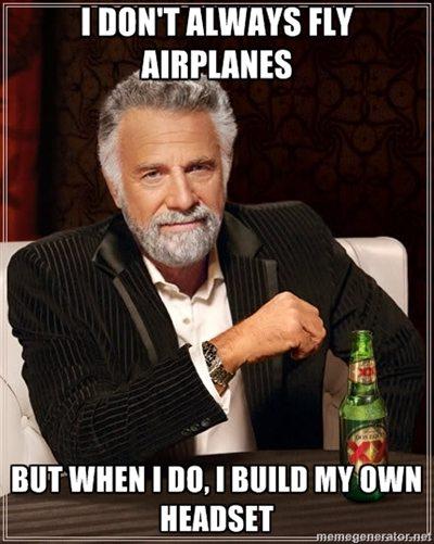 Diy Aviation Headset Pilots Of America