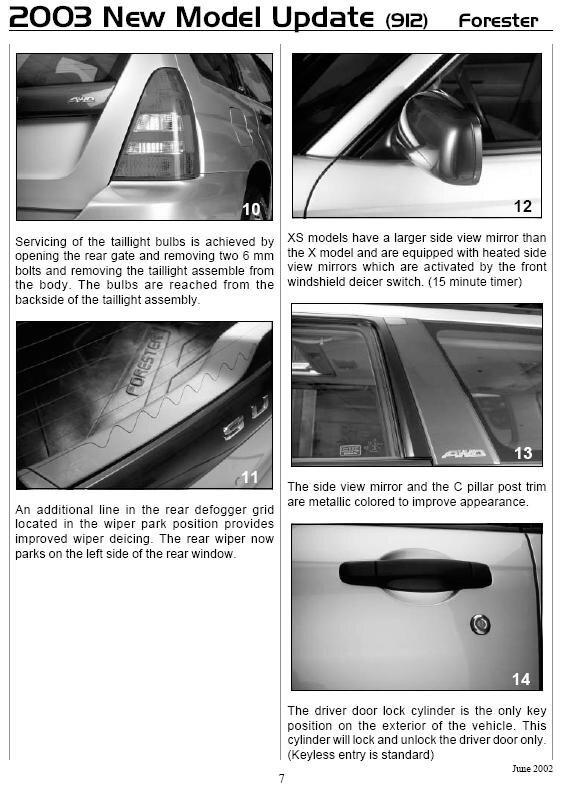 01 02 Adding Heated Mirrors Subaru Forester Owners Forum