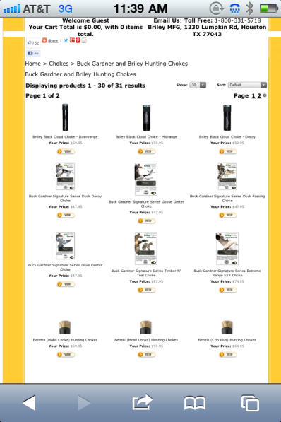 MudmotorTalk com - View topic - Patternmaster choke tubes