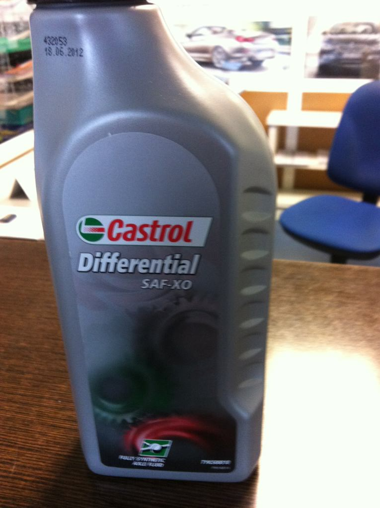 Aceite diferencial bmw