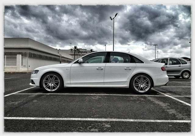 Audi A4 AVANT S-LINE B8 08-2.0 TDi LOWERING SPRINGS 20mm **REARS**
