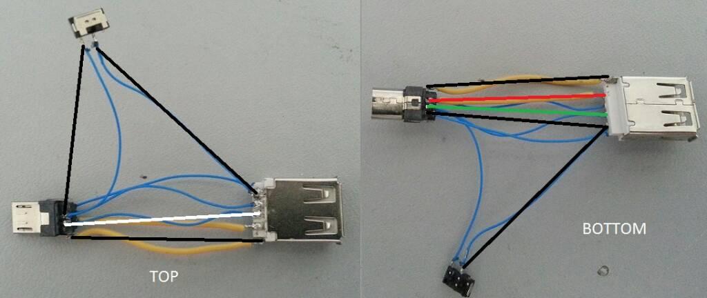 Como aser cable otg casero