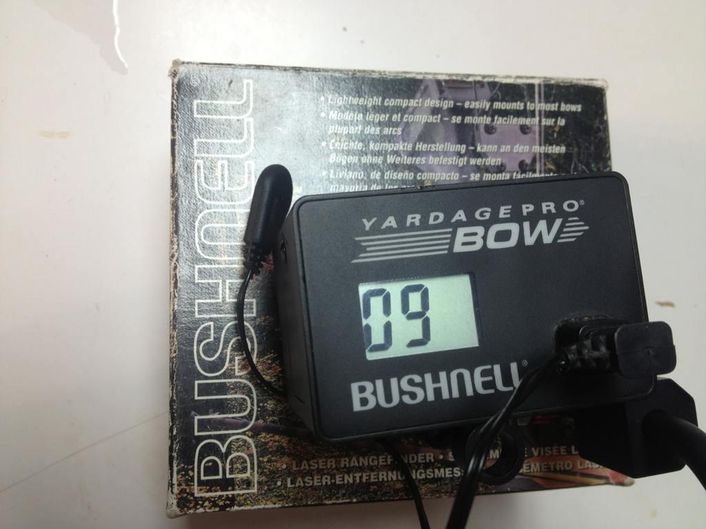 Bushnell Entfernungsmesser Yardage Pro : For sale or trade bushnell yardage pro bow