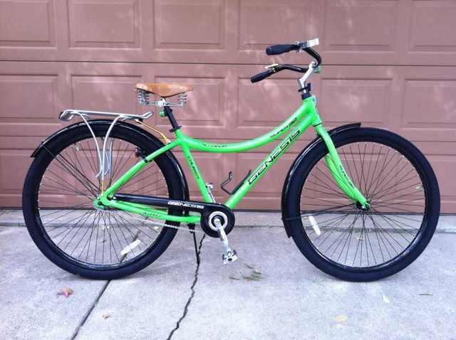 Big Green 32er Rat Rod Bikes