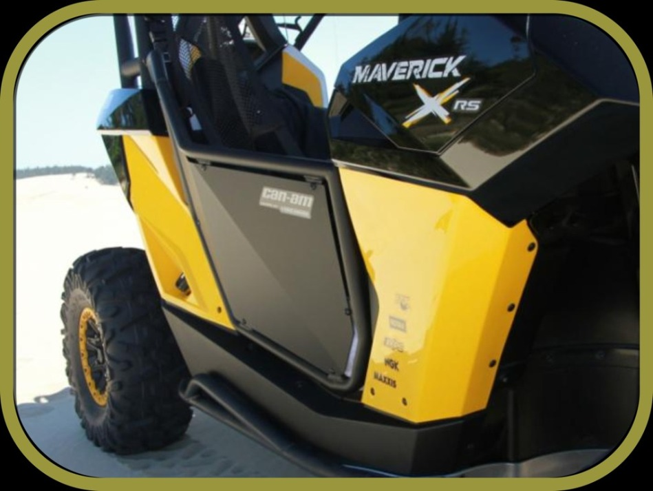 The Maverick doors by Pro Armor will be out any day now and as said they will be just what you are looking for. & doors with nets - Can-Am Commander Forum