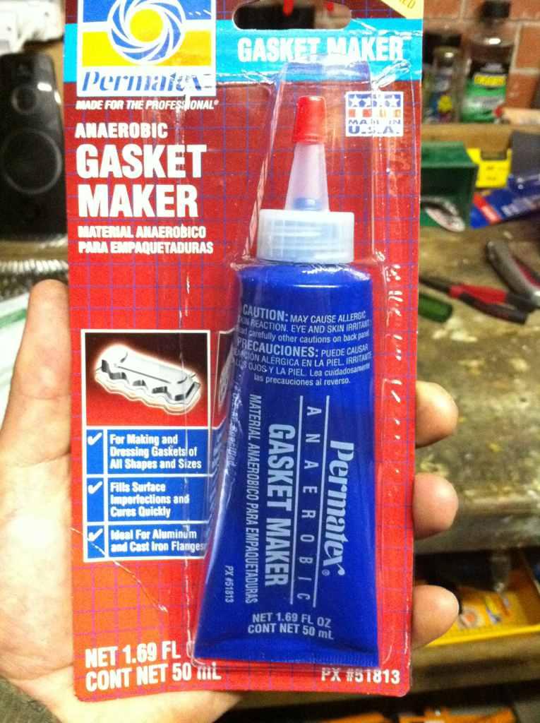 gasket maker. gasket maker