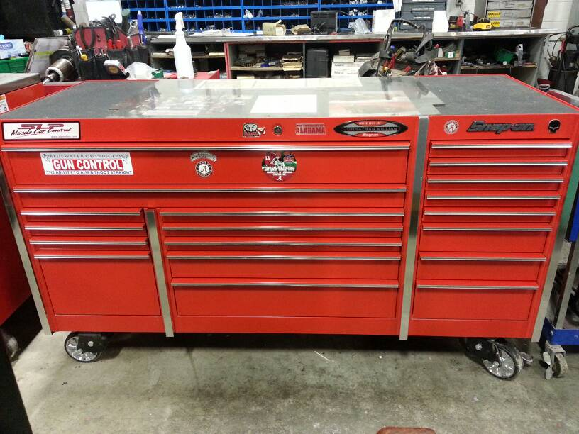 tool box for sale. located in plymouth, michigan. local pickup only. used for a little over year. asking $4500 or best offer. retails almost $10,000. tool box sale l