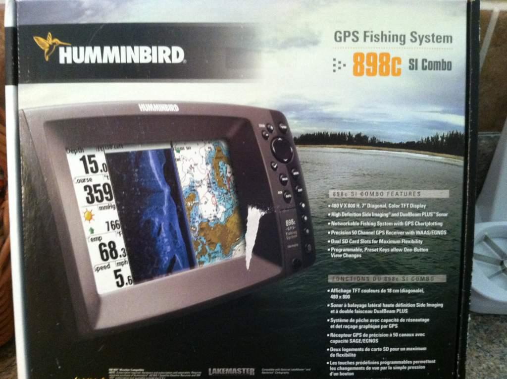 biglake411 • view topic - for sale: humminbird 898c si combo, Fish Finder