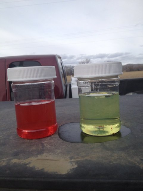 Using food coloring to test for alcohol in gas - Backcountry Pilot