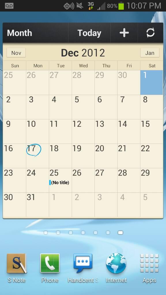 Calendario Samsung.App Mod Calendario Samsung Note Htcmania