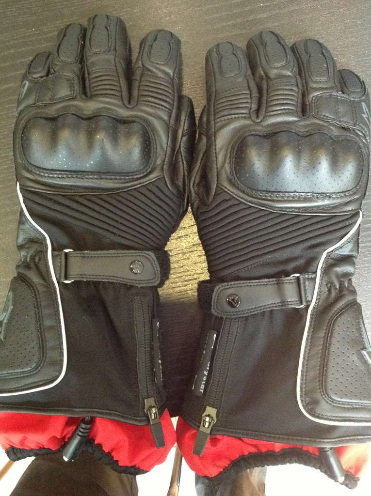 tests gants hiver moto
