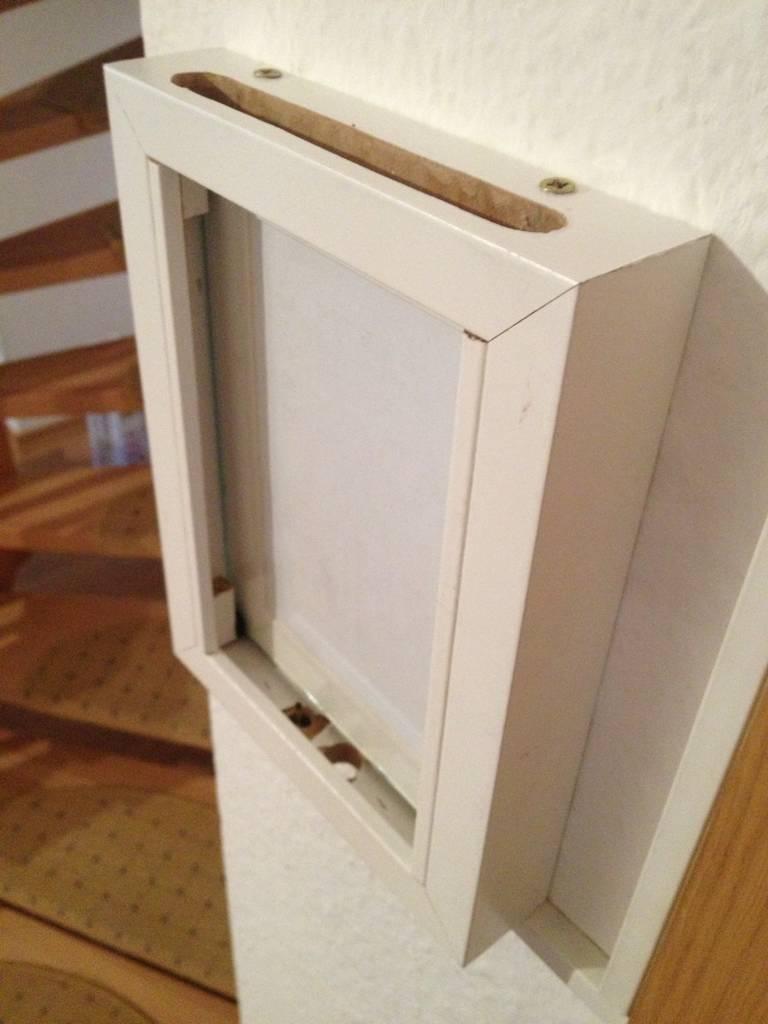 Bauvorschlag für simple Wandhalterung
