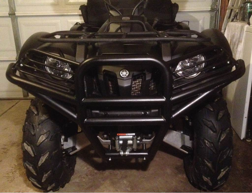 Moose bumper for a 2013 700 yamaha grizzly atv forum sciox Choice Image