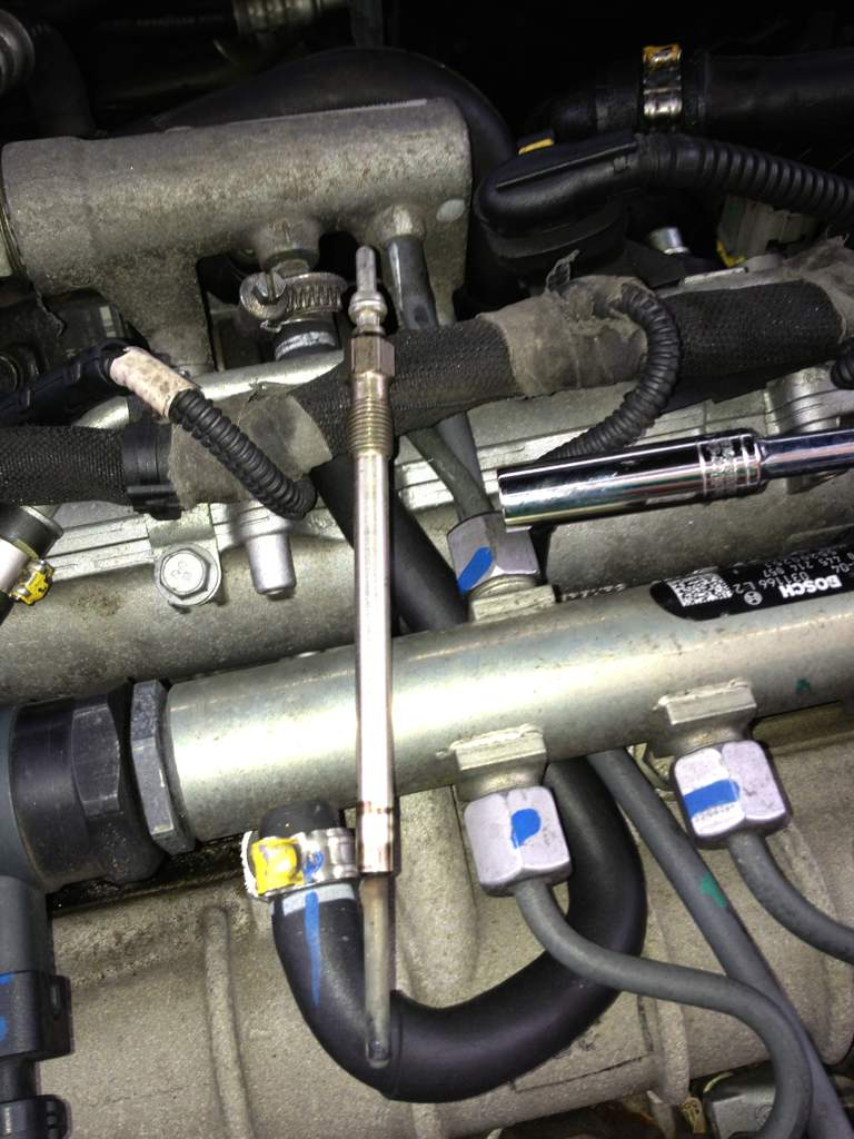 How To Change Glow Plugs On 19 Cdti Wiring Up Old And New