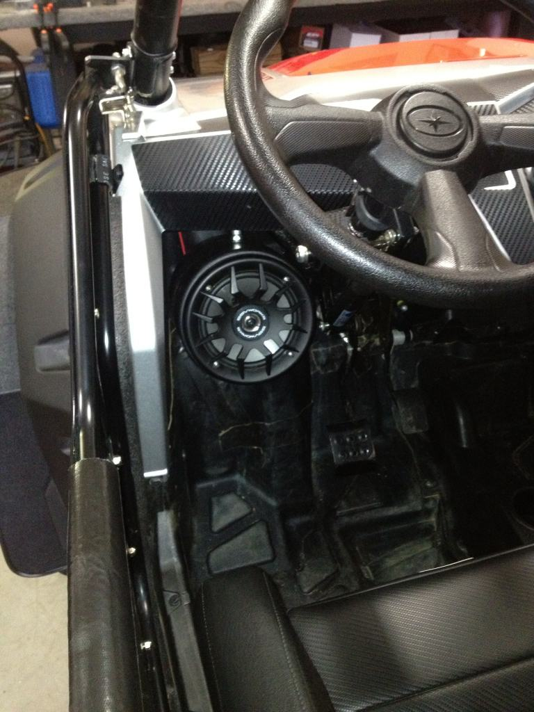 Under dash speaker pods - Polaris RZR Forum - RZR Forums net