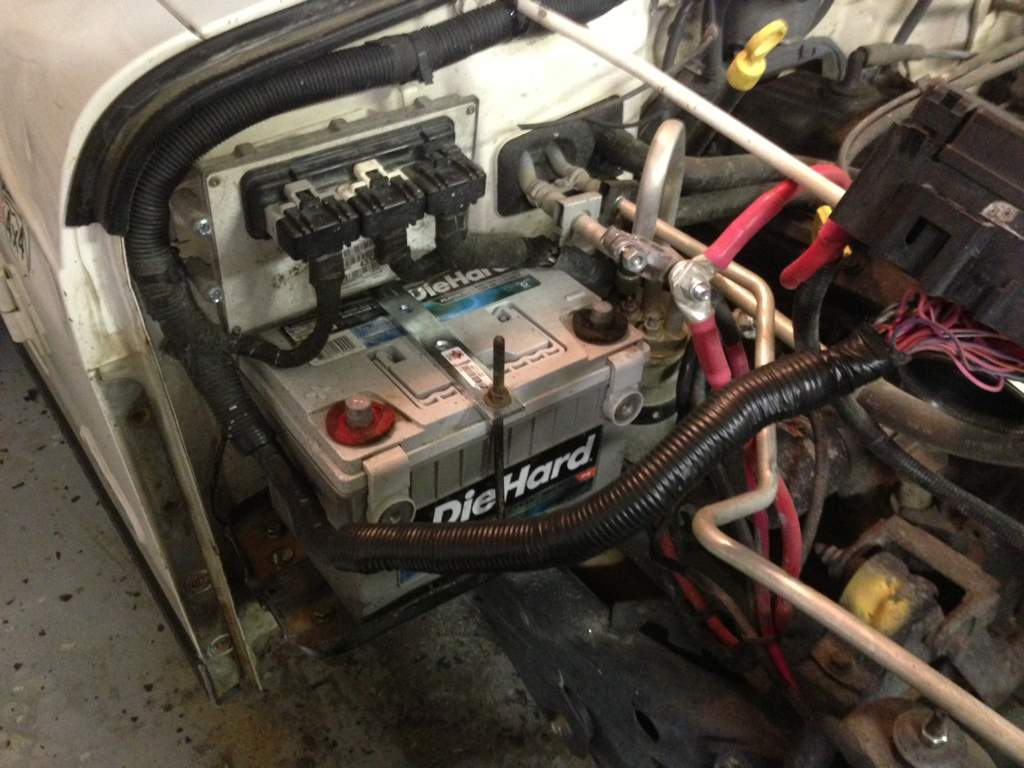 Project Search And Destroy A Daily Driver Tj Rubicon Build Jeep Battery Wiring My Erector Set Tray Lol
