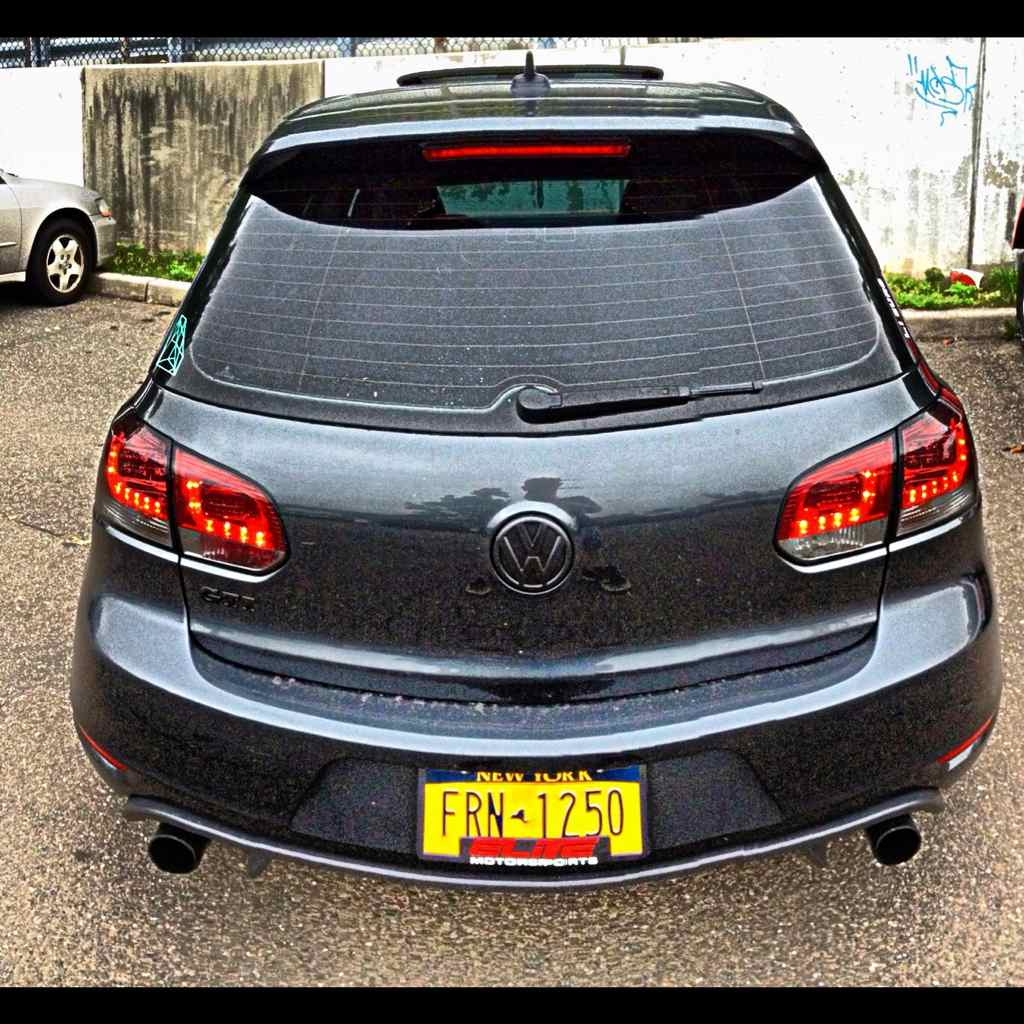 Home spyder black led tail lights vw golf gti golf r mk6 - Great Condition Had Them For 4 Months Plug N Play No Error Code No Adaptor Needed 350 Or Best Offer Pm For Fastest Response