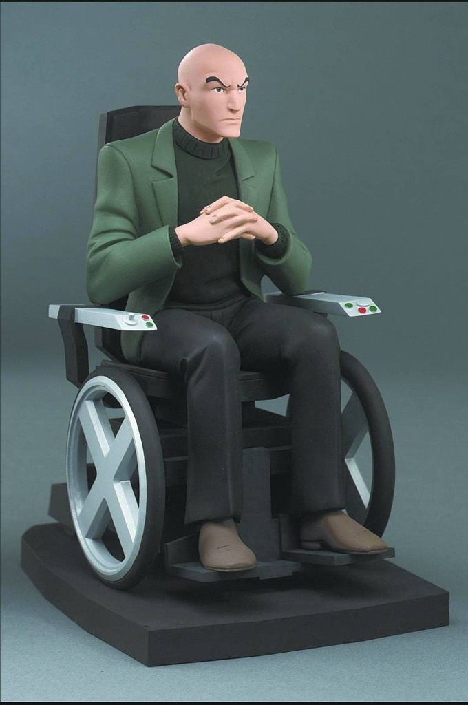 Has anyone heard of these and  X Men Evolution Professor X