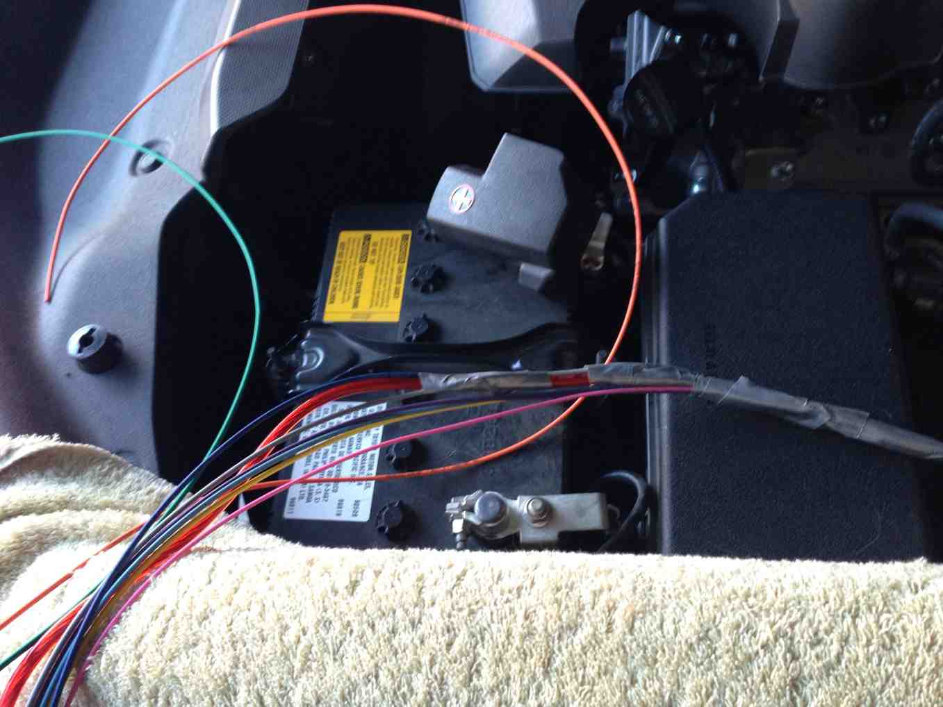Toyota 4runner Forum Largest View Single Post Painless Fuse Boxes So Here Is The Box And Amp Power Also A Bundle Of Wire For Future Accessories That Are In Engine Compartment Air Compressor