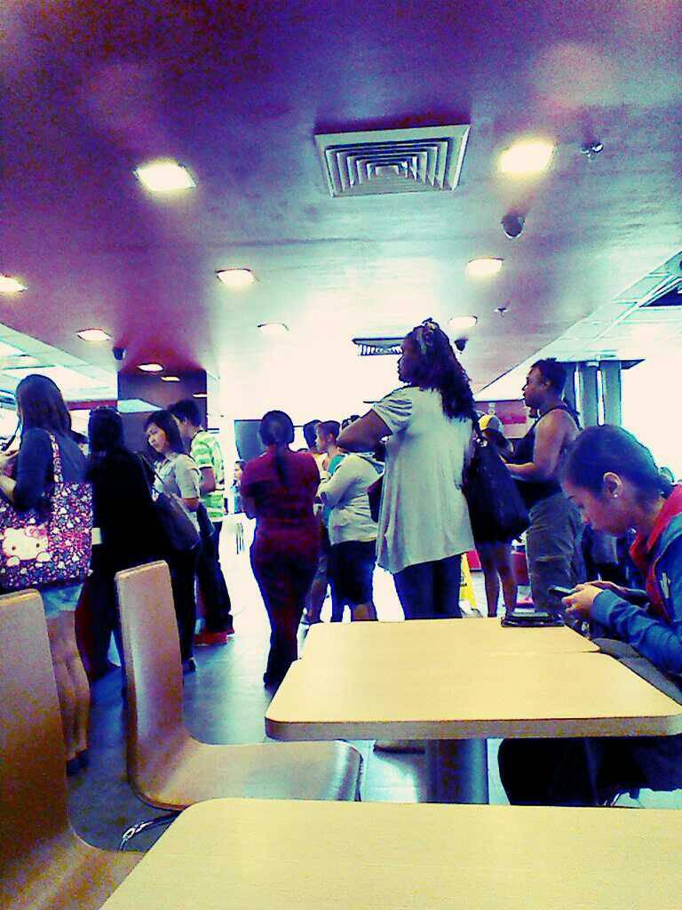 7evu2uva - At BQ Tagbilaran McDonalds - Anonymous Diary Blog