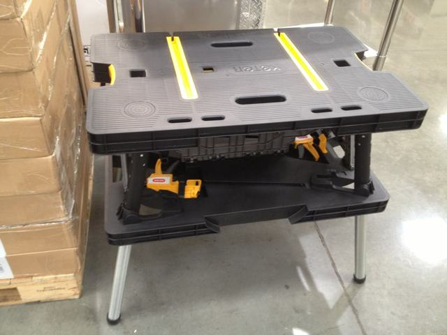 Keter Folding Work Table   $39.99 @ Costco (YMMV)   The Garage Journal Board