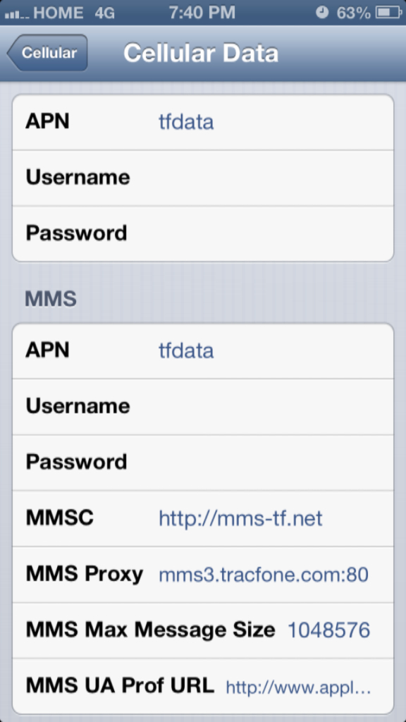 NET10 Wireless Forums • View topic - iPhone 5 APN settings
