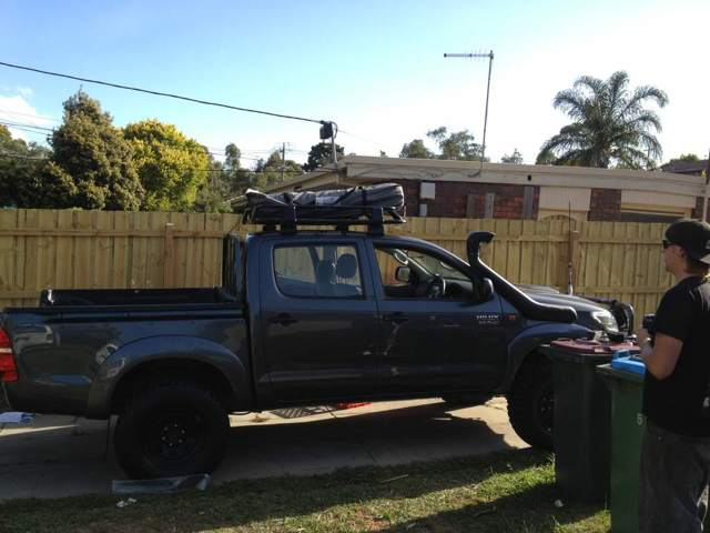 Newhilux Net View Topic Tigerz11 1 2 Roof Rack