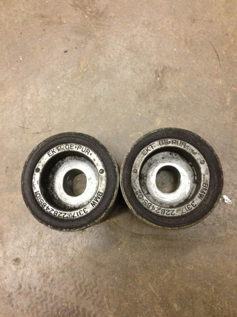 Any Diy On How Remove The Diff Cover Bushing Akg Bmw M3 Forumcom Ar Kw New Bushings Pressed In