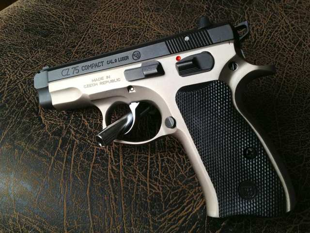 CGW upgrades to my New CZ75 Compact!