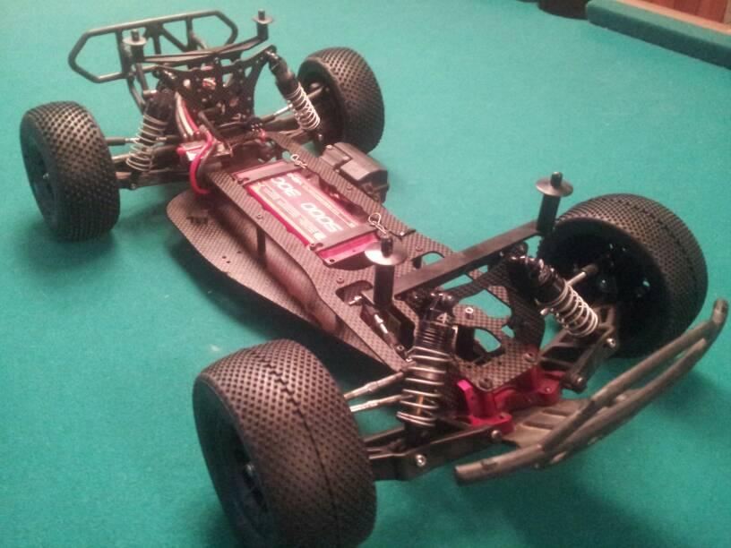 Slash 2wd LCG chassis