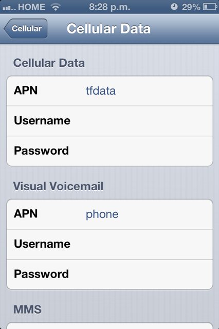 Net10 APN Settings Galaxy