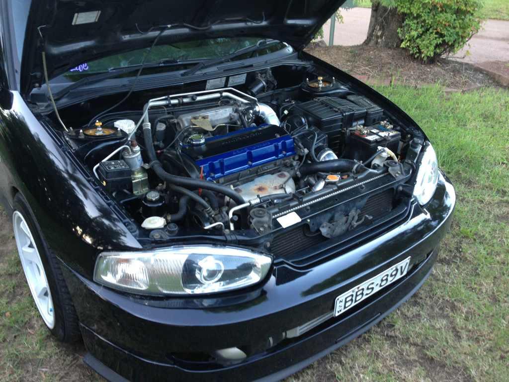 4g93 to a 4g63t engine swap | AusLancer