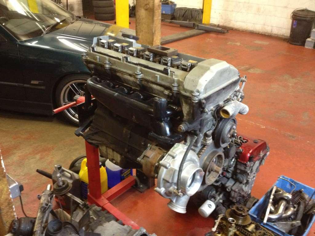 Bmw m50 engine setup & RHD turbo manifold | Driftworks Forum