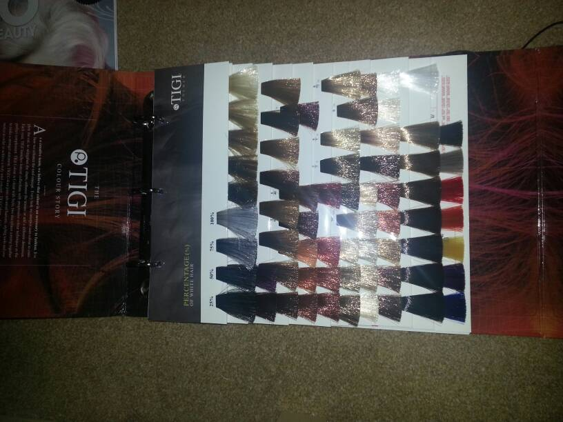 img - Paul Mitchell Color Swatch Book