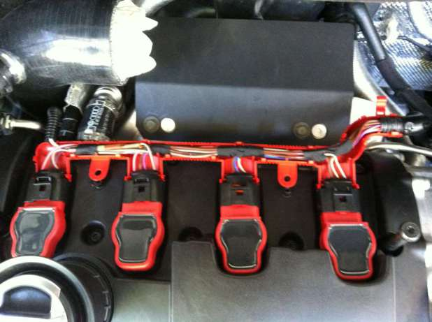 za6ugu6e mk6 golf r owners ever install a red wiring harness to compliment Coil Pack Wiring Harness Shield at fashall.co