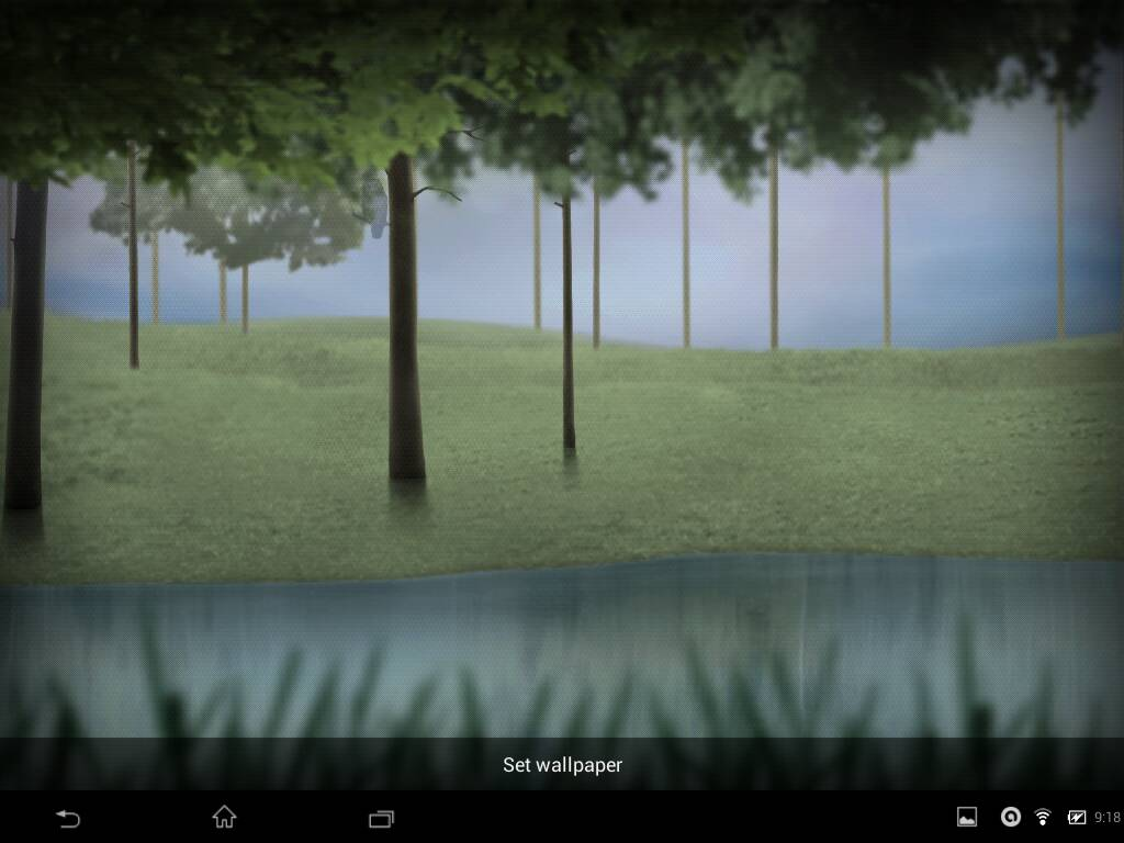 Live Wallpaper Enchanted Forest
