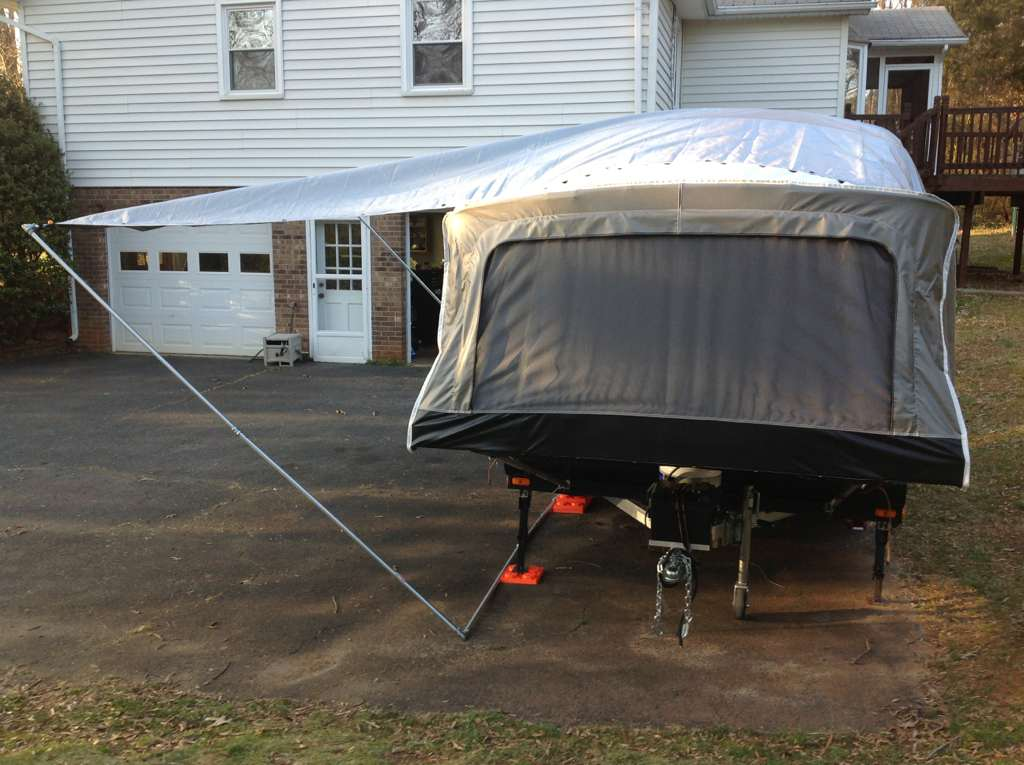 DIY Awning for Livin Lite Quicksilver Campers | PopUpPortal