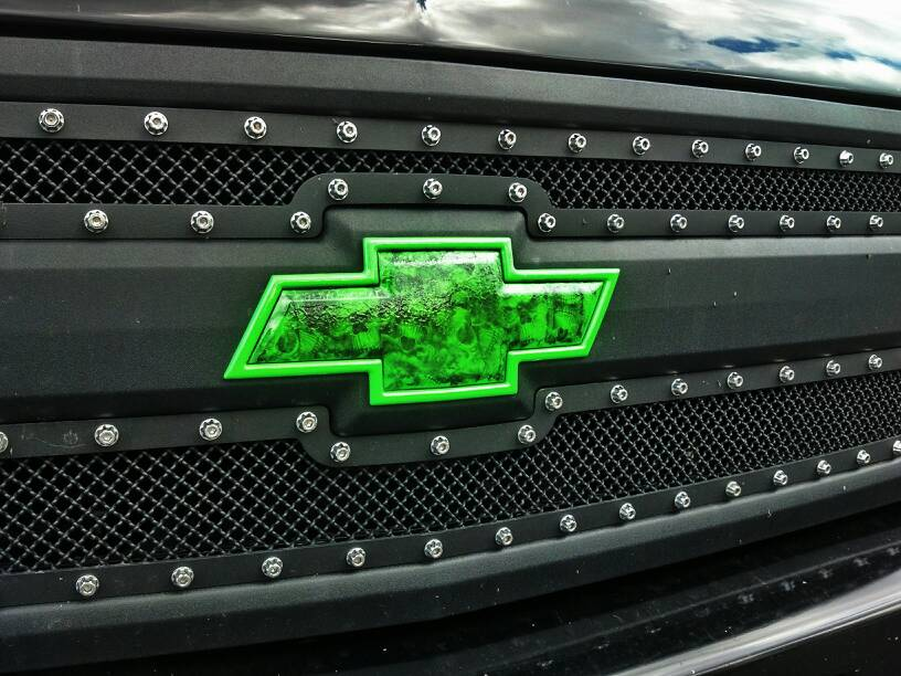Silveradosierra Lets See Your Custom Bowtie Gmc Logo