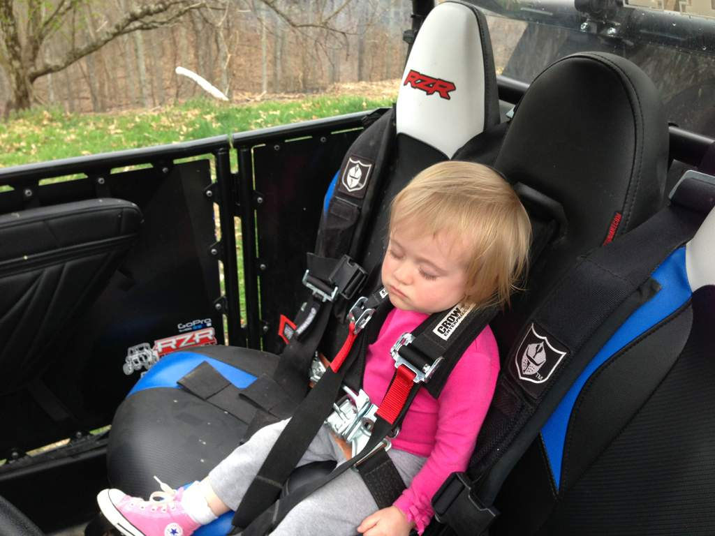 the best child seat setup!!! - Polaris RZR Forum - RZR