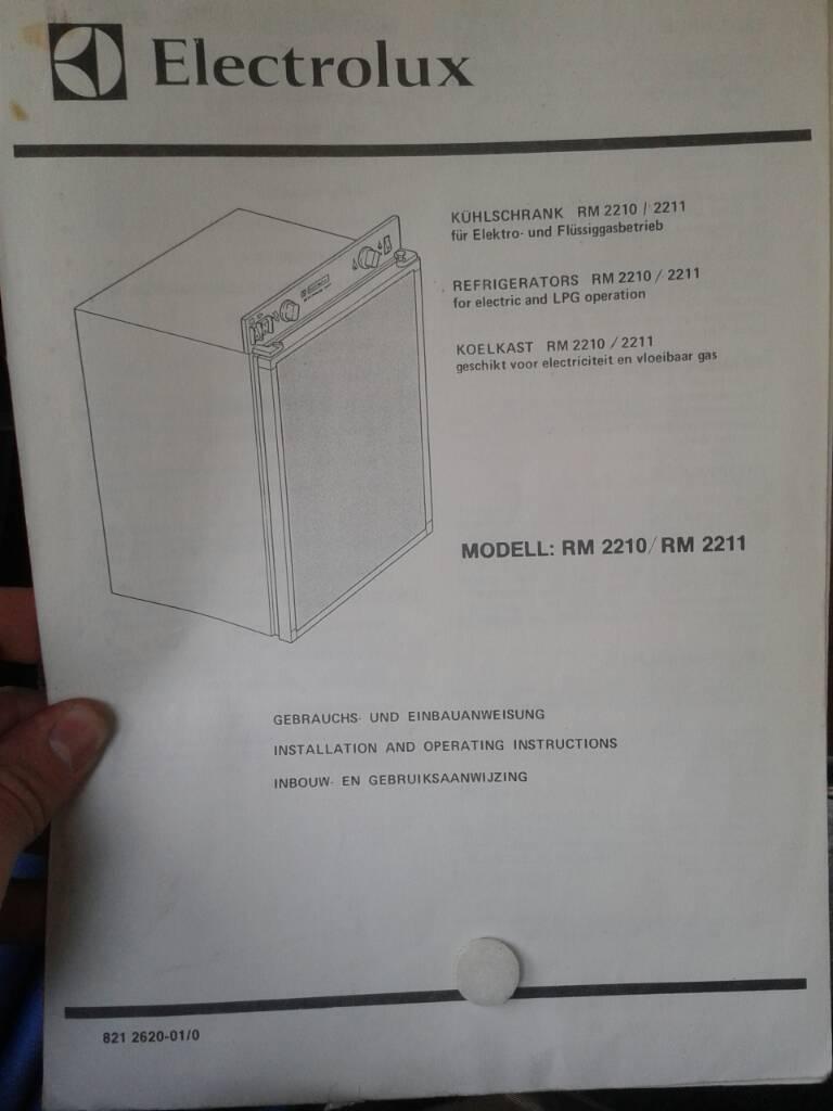 Gemütlich Gas Kühlschrank Electrolux Galerie - Das Beste ...