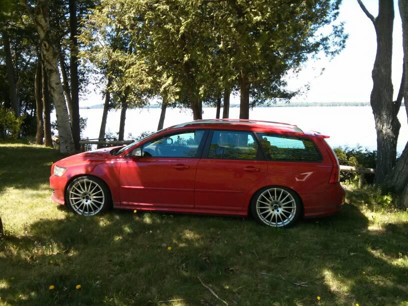 Volvo v50 coilovers