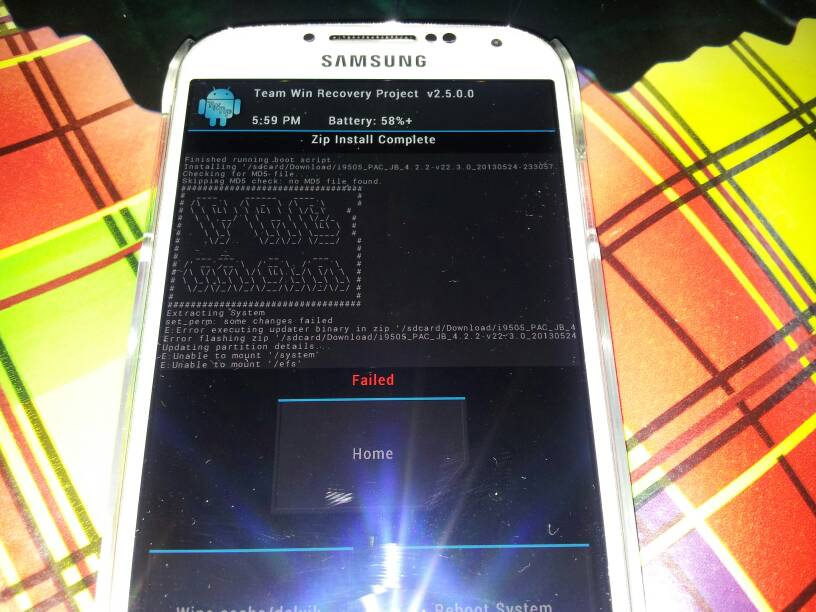 deverouiller le bootloader - Samsung Galaxy S4 i9505