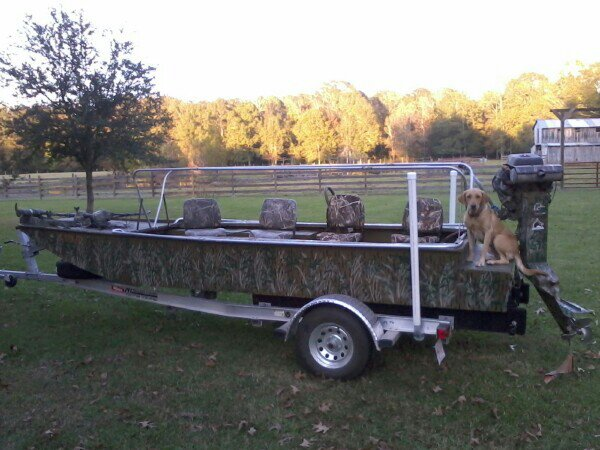 Re Homemade Boat Blind Ideas Please