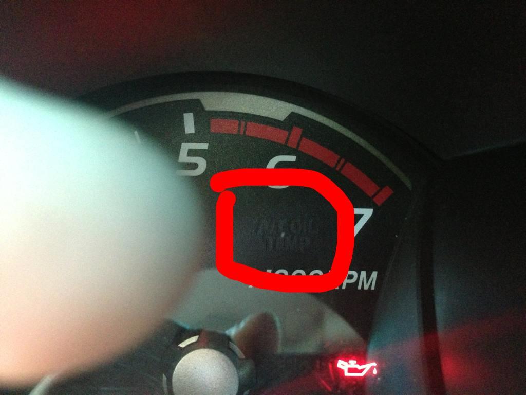 AT OIL TEMP warning light (AT models)