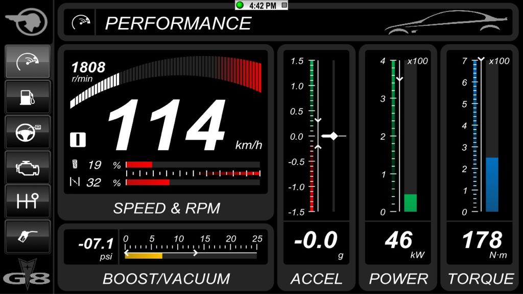 torque android app oil pressure
