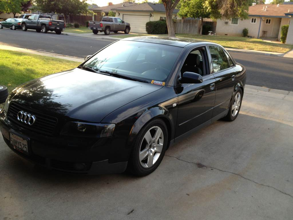 for : black in and out 2002 audi a4 1.8t quattro 5 speed sedan