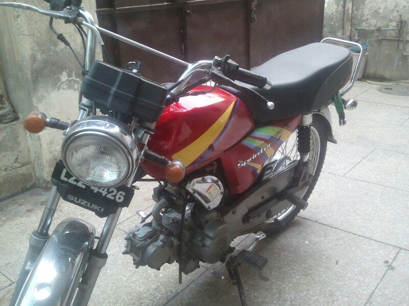 Suzuki Sprinter 110 - Hard Shocks - y9edepu2